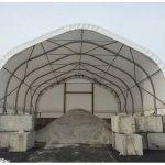 24' wide salt dome