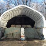 30' wide salt dome